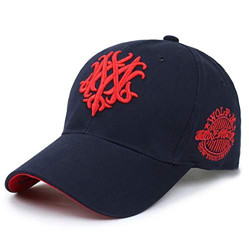 wtnhz Artículos de Moda Deportes de Ocio al Aire Libre Sombrero cálido Hombres y Mujeres Moda Coreana Sombrero para el Sol Gorra de béisbolRegalo de Vacaciones