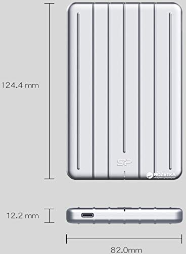 Preisvergleich Produktbild Iorinis diskas Silicon Power SSD Bolt B75 512GB USB 3.1 Sidabrinis
