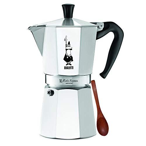 Original Bialetti 9-Espresso Cup Moka Express   Espresso Maker Machine and Zonoz...