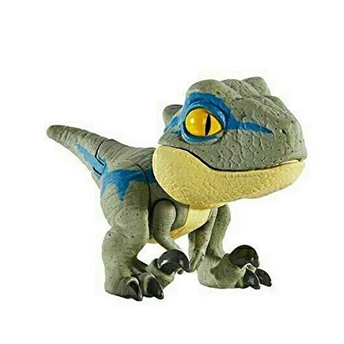 JW Mattel - Jurassic World - Snap Squad Mini Dinosaurios (Velociraptor Blue)