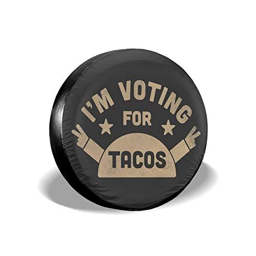 NOBRAND Votación por la Cubierta de llanta de Repuesto Tacos , Cubierta de llanta de Rueda Universal portátil a Prueba de Polvo Impermeable Apta para Muchos vehículos (14 15 16 17 Pulgadas)