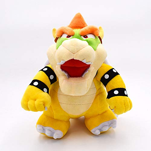 letaowl Peluches Doudou 25 Cm Super Mario Bros Bowser Stand Koopa Jouet en Peluche Grand Cadeau pour Bébé