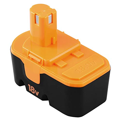 3.6Ah Ni-Mh Battery Replacement for Ryobi 18V Battery P100 Compatible with Ryobi 18 Volt Battery one Plus ABP1801 ABP1803 BPP1820 130224007 130224028 130255004 1322401 1323303 Batteries