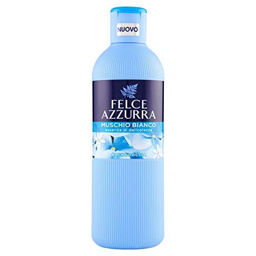 Felce Azzurra - Bagnodoccia Muschio Bianco, Profumo Rilassante, Idrata la Pelle - 650 ml