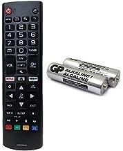 AKB75095307 Replacement Remote for LG 43LG5500 49UJ6500 32LJ550B 55LJ5500 55UJ6050 43UJ6200 43UJ6500 43UJ6560 49UJ6500 49UJ6560 55UJ6520 55UJ6540 55UJ6580 60UJ6540 with GP Alkaline 2 pcs Batteries