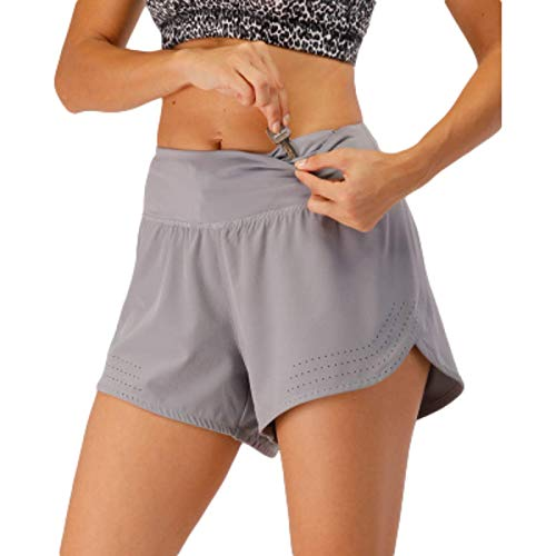 Pantalones Cortos Deportivos Informales Sueltos de Verano para Mujer, Pantalones Cortos de Entrenamiento para Correr, de Secado rápido, de Cintura elástica, para Gimnasio, Yoga, para Correr X-Large