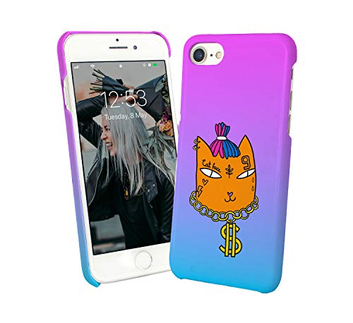 Cat Rapper XXX Dollar Tattoo_010173 Protective Phone Mobile Smartphone Case Cover Hard Plastic For iPhone 6 Plus iPhone 6s Plus Funny Gift Christmas