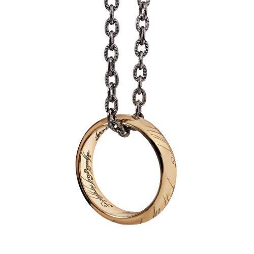 El Señor de los anillos–El Anillo De Una–Plata de oro. nn9269