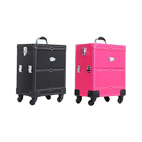 Universal-Rad-kosmetischer Fall Aluminium Trolley Professional Make Up...