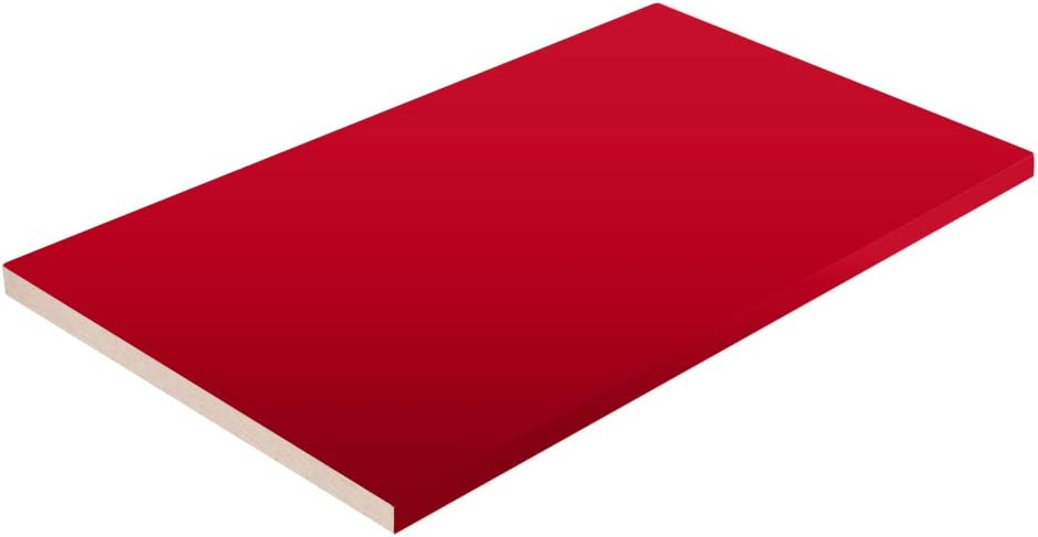 Red Closet Shelves Melamine - Choose 1 4 Regular discount Your Accurate Size Max 77% OFF
