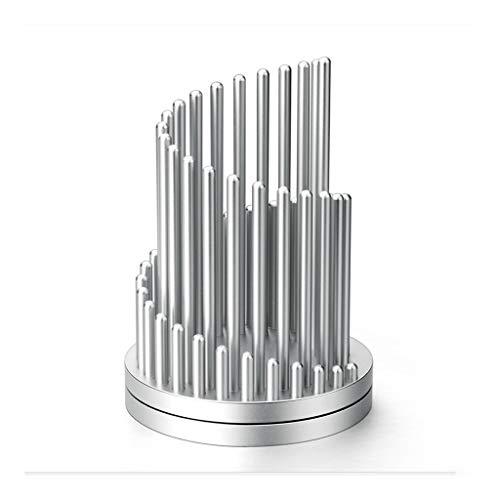 Portalápices Titular de la Pluma, sostenedor del Metal lápiz, lápiz de descompresión Barril de Escritorio de Oficina, Pueden los Regalos de Letras de Tipo Rápido-rotación Regalo de Oficina