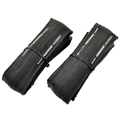MAXXIS PURSUER M225 700x23C Tire Road Racing Clincher Folding Tire 60TPI 130PSI, Black, 2 Tire, MX2216