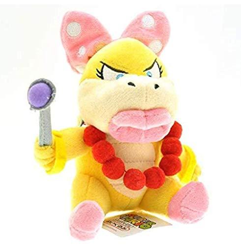 Super Mario Wendy O Koopa Knuffels Pop 13Cm Koppa Zus Wendy Bowser Koopalings Pluche Knuffel voor Kinderen Geschenken