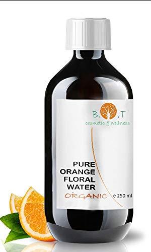 BIO Orange reines ORGANIC Wasser Hydrolat Orange 100% natürlich Orangenblütenwasser 250ML