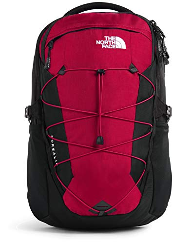 The North Face Borealis Men's Backpack, TNF Red Ripstop/TNF Black, One Size