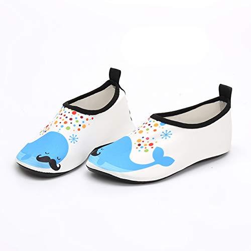 QXue Zapatos de Deportes Acuaticos Barefoot niño Zapatillas de Trail Running Minimalistas Zapatillas de Deporte Exterior Interior,33 EU