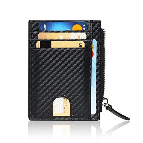 【 DESIGN NEUTRA DEL CUOIO 】: Questo portafoglio di carte di credito RFID è uno dei più raccomandati, realizzato in pelle di alta qualità, con diversi scomparti per riporre monete, chiavi e carte con una tecnologia speciale che blocca l'attività elett...