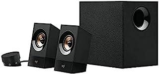 Logitech Multimedia Speakers Z533, Głośniki Komputerowe, Potężny Dźwięk, Analog, Pc/Mac/Chromebook - Czarny,980-001054