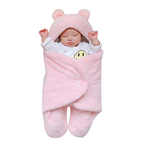 Domybest Swaddle Wrap pour b/éb/é nouveau-n/é Coton doux chaud Sac de couchage Sleepsack
