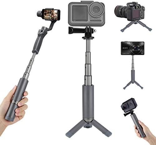 CYNOVA Osmo Action Mini Tripod Go pro Hand Grip Extension Pole Portable Waterproof Monopod Stick product image