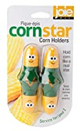 Durable corn holders Stainless steel prongs Easy to maintain Puts a smile on your face Note: Corn Star & Corn Dude both are same product with different packing