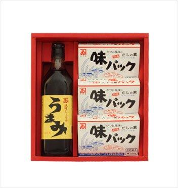 カネイ醤油 うまみ・味パック3箱セット[AU-300]