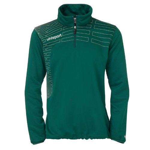uhlsport Match Pull à Ouverture de col zippée pour Femme Vert Vert foncé/Blanc XXL