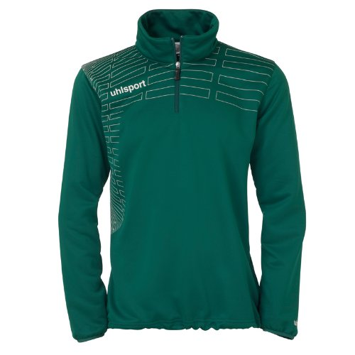 uhlsport Pullover Match 1/4 Zip Top - Jersey, Color Verde, Talla 2XL