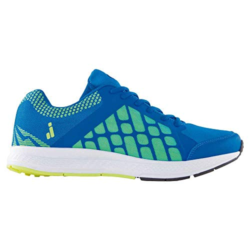 Joluvi Unisex Mile Zapatillas Running, Correr Adulto, Azul Real/Lima, 36 EU