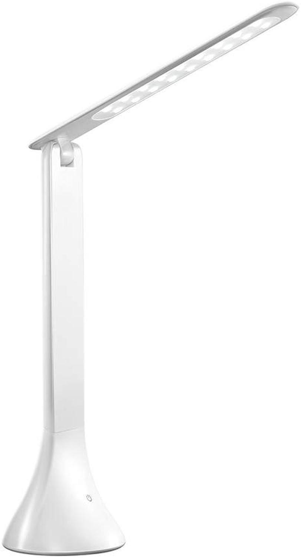 Yongyong Kreative Einfache Klapptischlampe Touch-Schalter Desktop-lesen LED-Tischlampe Schlafzimmer Nachttischlampe Lernen