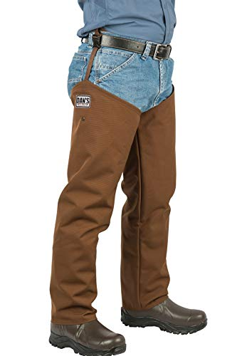 DAN'S Hunting Gear, LLC Snake Proof, Briar Proof,100% Waterproof Hip Wader, Made in U.S.A. (Men's 12 | Chap Size Thigh 29/Inseam29)