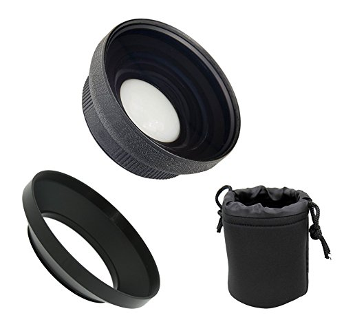Ultra Wide Angle Conversion Lens (Low Profile) for Sony FDR-AX53