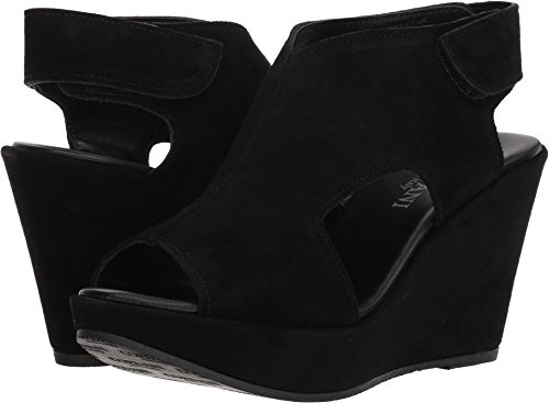 Cordani Reed Black Suede 38 (US Women's 7.5-8) B (M)