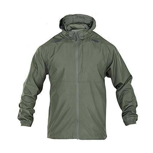 5.11 Tactical Men's Packable Operator Jacket, Sheriff Green, X-Large