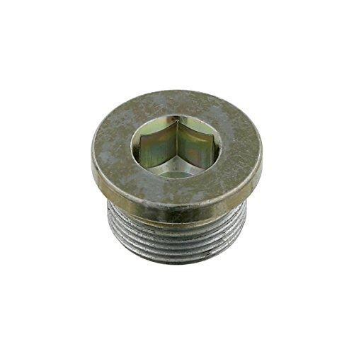 febi bilstein 05410 Verschlussschraube für Ölwanne, Achsschenkelbolzen, Getriebe, Motorblock, Achsgehäuse