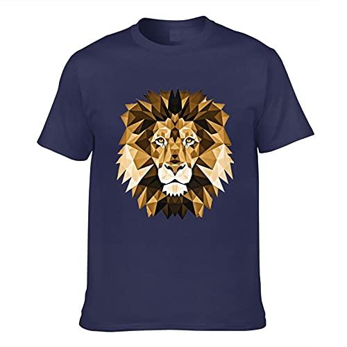 Lion - Camiseta de manga corta para hombre con impresión 3D para adulto