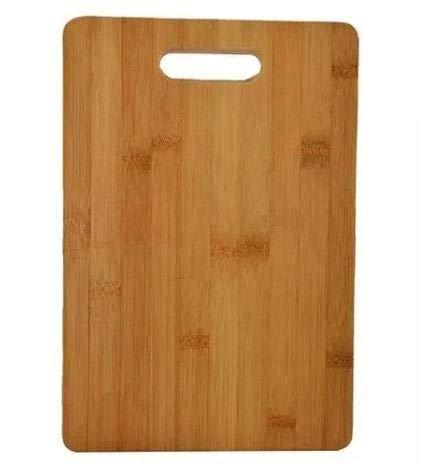 Tábua de Corte de Alimentos em Bambu 20 x 30 cm