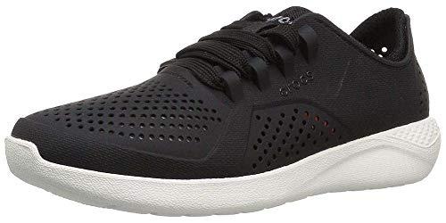 Crocs LiteRidePacerW, Zapatillas Mujer, Negro (Black 001), 42/43 EU
