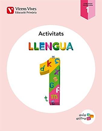 Aula Activa, llengua, 1 Educació Primària (Valencia). 3 trimestres