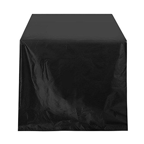 TOPINCN Meubilair Cover Tuin Balkon Waterdicht Roestvrij scheurvast 210D Oxford Doek voor Tafelstoel Rotan Meubilair Feesten Bruiloften