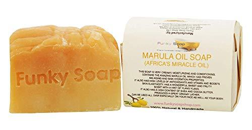 1 Unidad Marula (África Milagroso Aceite) Jabón 100% Natural Artesanal 120G