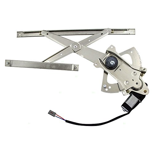 Drivers Front Power Window Lift Regulator with Motor Assembly Replacement for Ford Mazda Mercury SUV Pickup Truck ZZL1-59-560B
