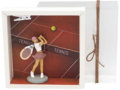 ZauberDeko Geldgeschenk Verpackung Tennis Sport Freizeit Fitness Gutschein Geldverpackung Ausrüstung Frau