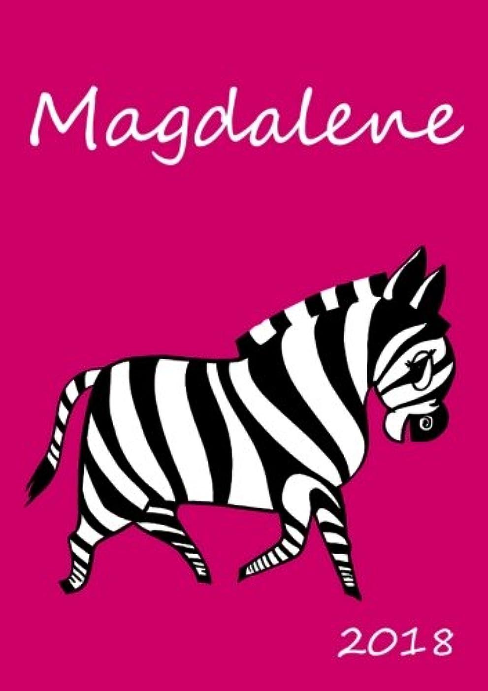 不良傾向があります意気消沈した2018: personalisierter Kalender 2018 - Magdalene - DIN A5 - eine Woche pro Doppelseite