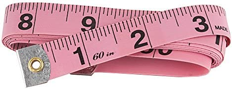 Singer, 3-Pack Tape Measure, Pink