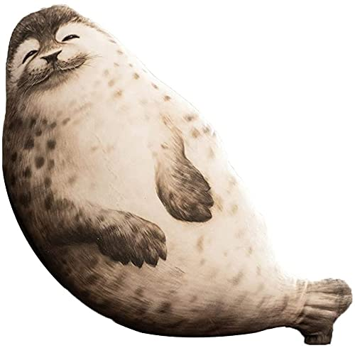 Archile Seal Almohada de Peluche de Peluche Animales de Peluche Juguetes Grandes Tiro Almohada Cojín Decoración de Oficina Inicio (85 cm / 33.4 Pulgadas) (Size : 70cm/27.5 Inches)