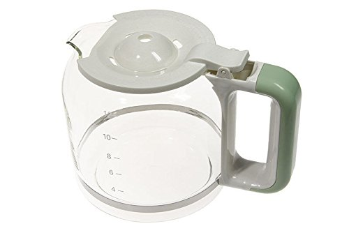 Ariete caraffa boccale contenitore recipiente vetro verde macchina caffè 1342