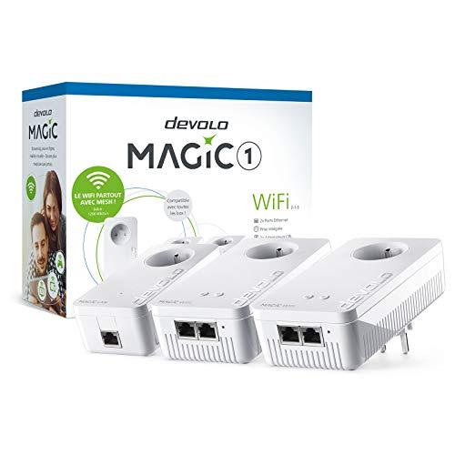 Devolo Magic 1 WiFi 1200 Mbit/s Ethernet Blanco 3 pieza(s) - Adaptadores...