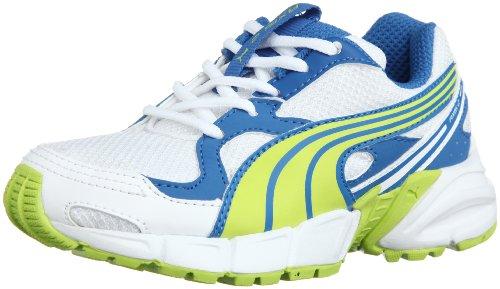 Puma Axis Mesh V2 Lace Up Boys Trainers Li/bl Size 3