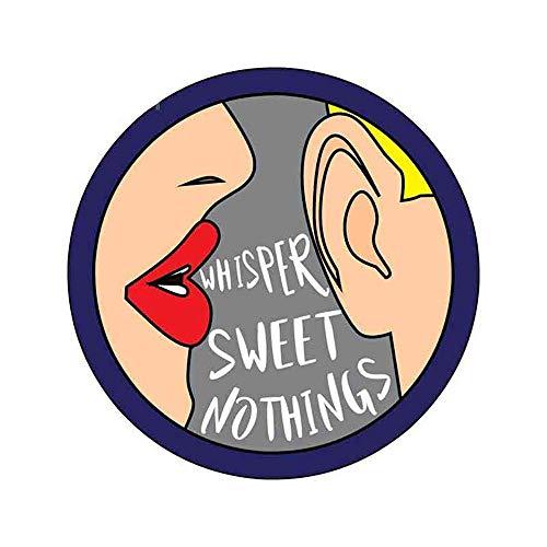 13 cm x 13 cm voor Whisper Secrets Comic-bus mannelijk fijn decal wrap sticker persoonlijkheid creatieve sticker